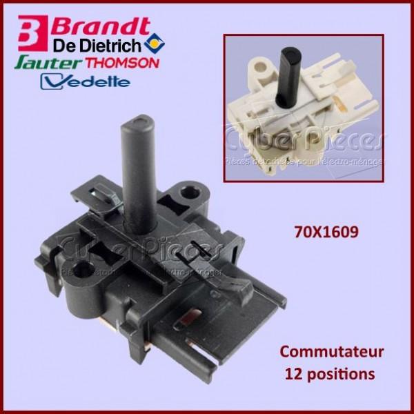Commutateur 12 positions Brandt 70X1609