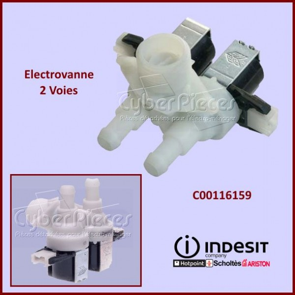 Electrovanne Diametre 10mm Indesit C00116159