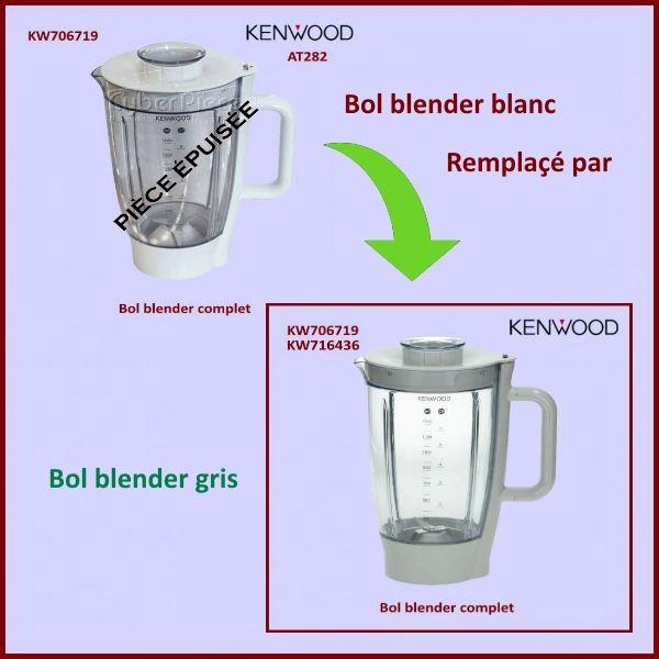 Bol Blender Complet AT282 Gris KW716436