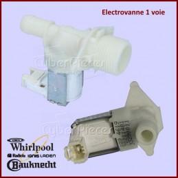 Electrovanne 1 voie 180° Whirlpool 481228128429 CYB-184540