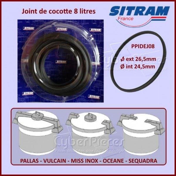Joint de cocotte minute SITRAM 8 litres