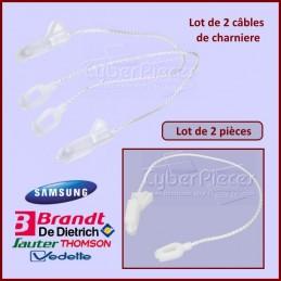 Lot de 2 câbles charniere Brandt 32X3511 CYB-149488
