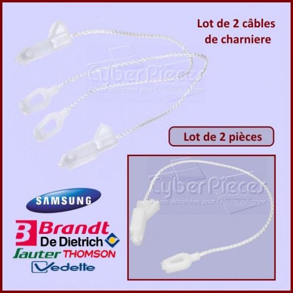Lot de 2 câbles charniere Brandt 32X3511