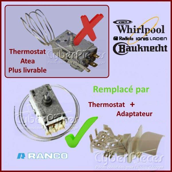 Thermostat K59L1129 Whirlpool 481927128669