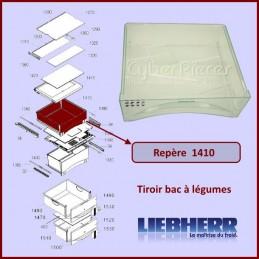 Tiroir bac à légumes Liebherr 9791272 CYB-357104