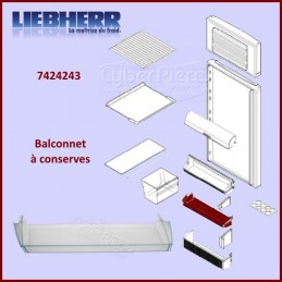 Balconnet à conserves Liebherr 7424243 CYB-370240
