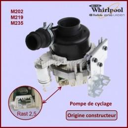 Pompe de cyclage Origine Whirlpool 481010625628 CYB-081351