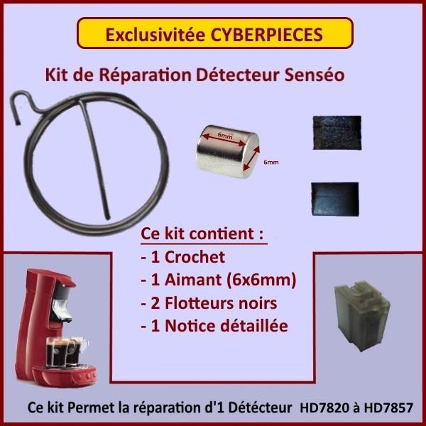 Kit Aimant 6x6mm pour Réservoir Senséo GA-334228