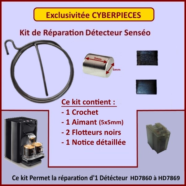 Kit Aimant pour Senséo Quadrante, Twist, Up et Switch