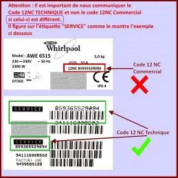 Carte électronique de controle Whirlpool 481010749225 GA-208963