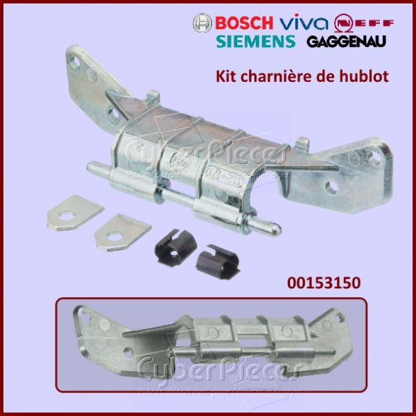 Kit charnière de hublot BOSCH 00153150