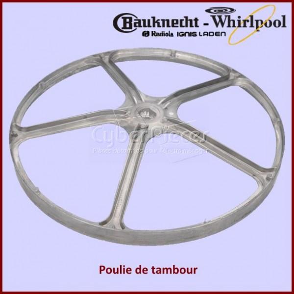 Poulie de tambour Whirlpool 480111102563