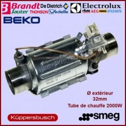 Élément chauffant 2000W - Ø 32 mm Electrolux 50297618006 CYB-012560