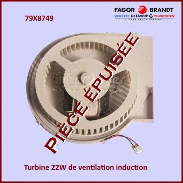 Turbine de ventilation Brandt 79X8749***Piece épuisée***