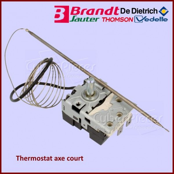 Thermostat axe court Brandt C08D000A1