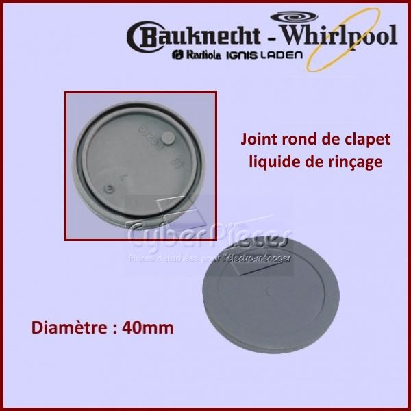Joint Rond Liquide de Rincage Whirlpool 481246668497