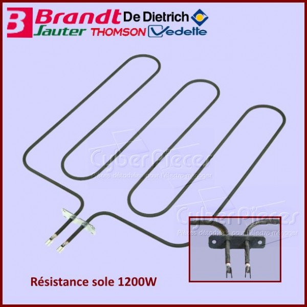 Résistance 1200W Brandt 77X3282