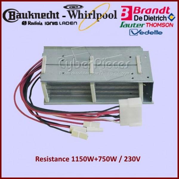 Resistance 1150W+750W 230V