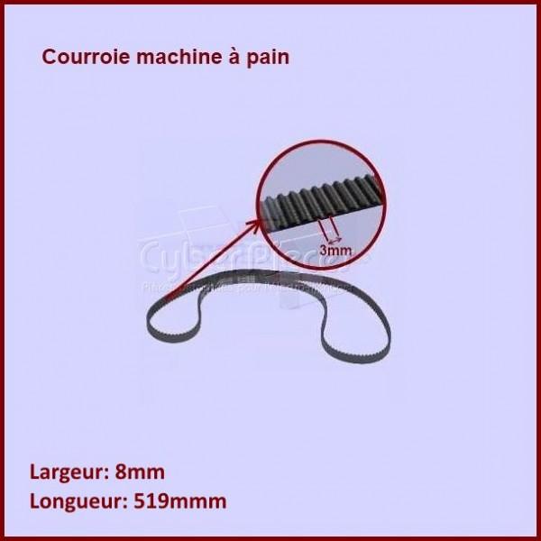 Courroie 519mm machine à pain  -  KW694643