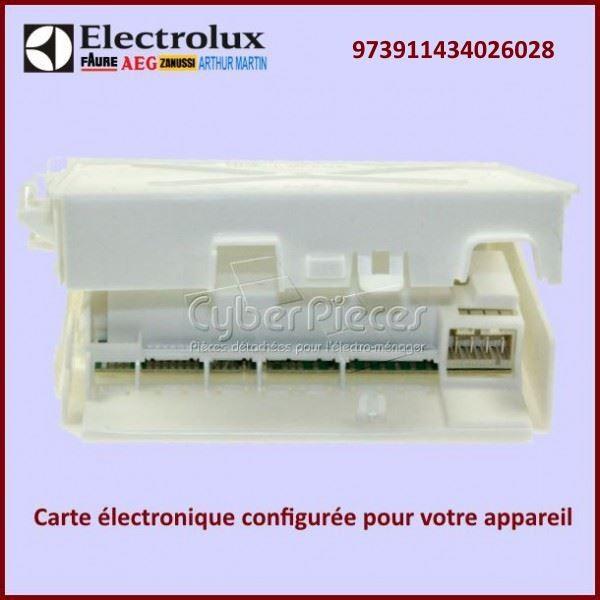 Carte electronique EDW1X configuré Electrolux 973911434026028