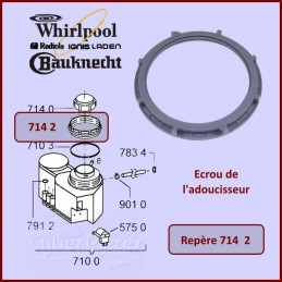 Ecrou adoucisseur Whirlpool 481231038896 CYB-139052