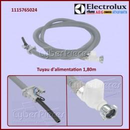 Tuyau d'alimentation 1,80m Aquacontrol ELECTROLUX 1115765024 CYB-116718