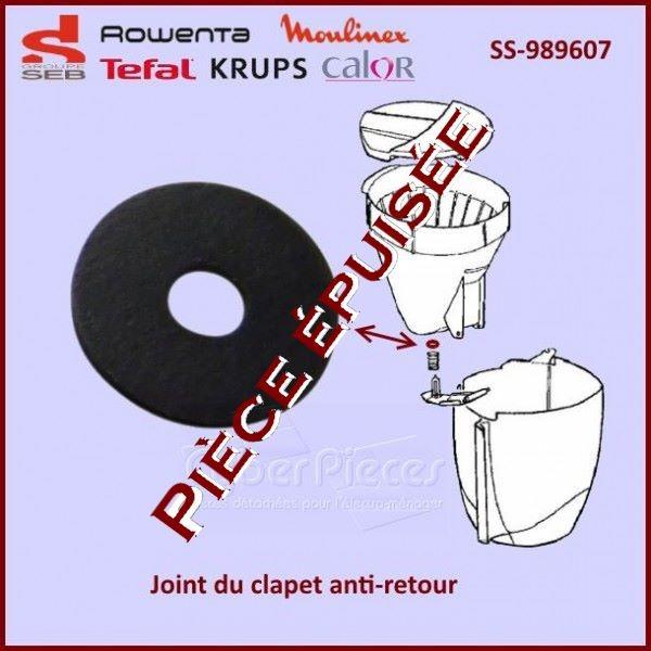 Joint Clapet Anti-goutte Seb SS-989607 *** Pièce épuisée ***