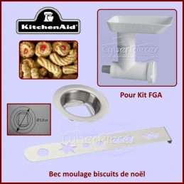 Bec moulage biscuits de noël adaptable Kitchenaid FGA CYB-143790
