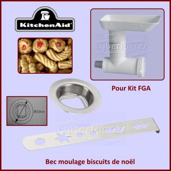 Bec moulage biscuits de noël adaptable Kitchenaid FGA