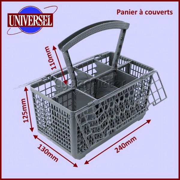 panier couverts universel 24x13x12 5cm pour lave. Black Bedroom Furniture Sets. Home Design Ideas