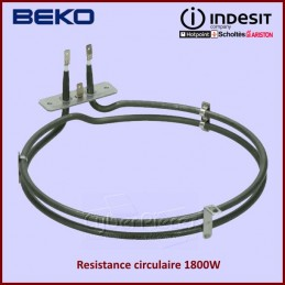 Resistance circulaire 1800W...