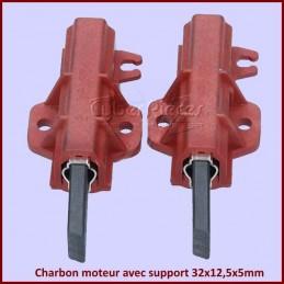 Charbon moteur avec support 32x12,5x5mm CYB-047951