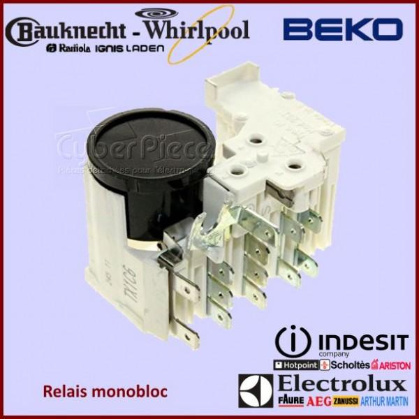 Monobloc relais Whirlpool 481228038118