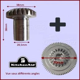Kit Roue Dentée 23 dents + Double Pignons CYB-353366