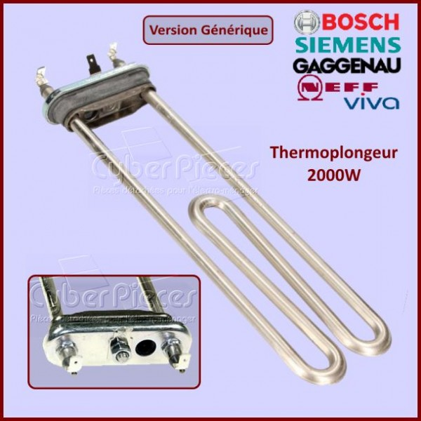 Thermoplongeur 2000W Bosch 00265961 - Version adaptable