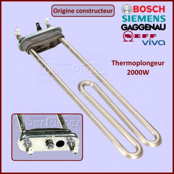 Thermoplongeur 2000W Bosch 00265961 - Version Origine