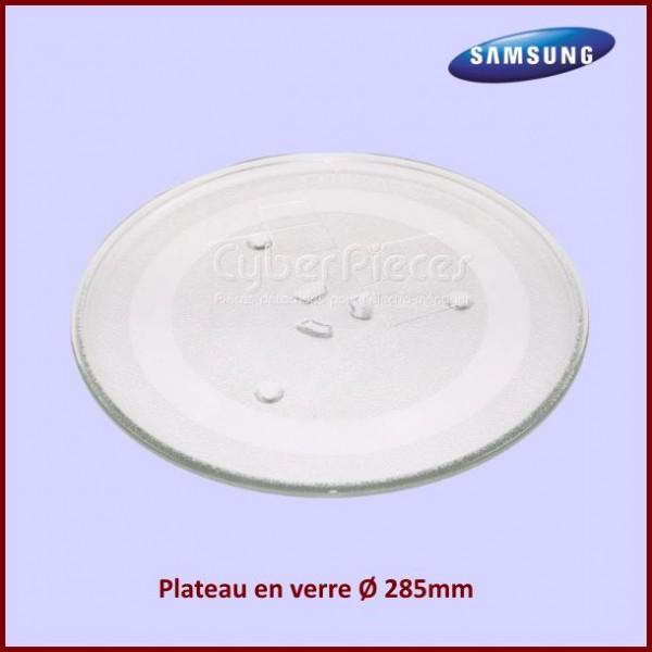 Plateau en verre 285mm Samsung DE74-20102D
