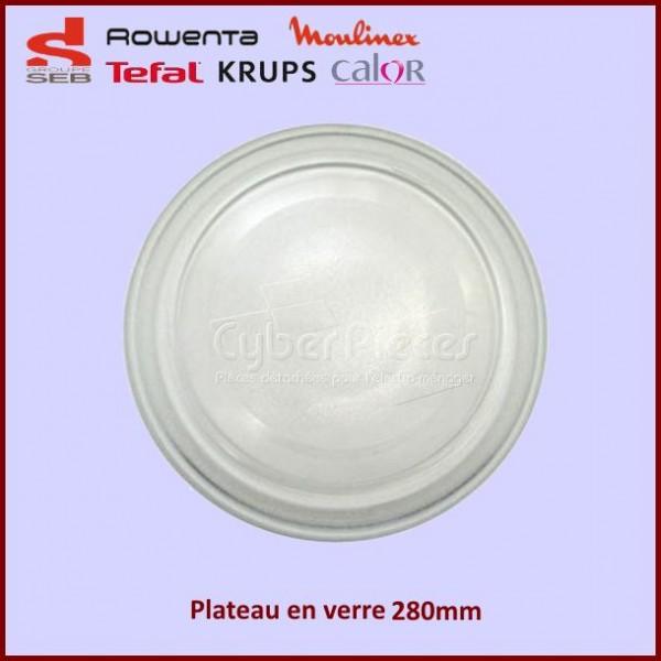 Plateau en verre 280mm Moulinex A01B01