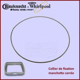 Collier de fixation manchette Whirlpool 480111100817 CYB-096843