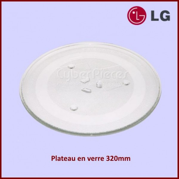 Plateau en verre 320mm  LG 1B71961E