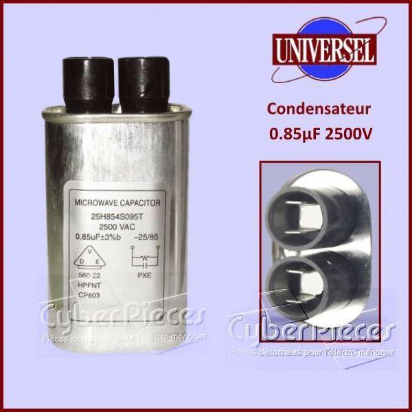 Condensateur 0.85µF 2500V