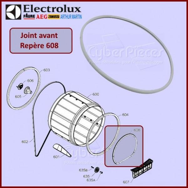 Joint avant Electrolux 1366063111