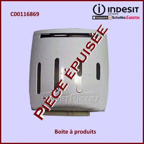 Boite à produits Indesit C00116869 *** EPUISE ***