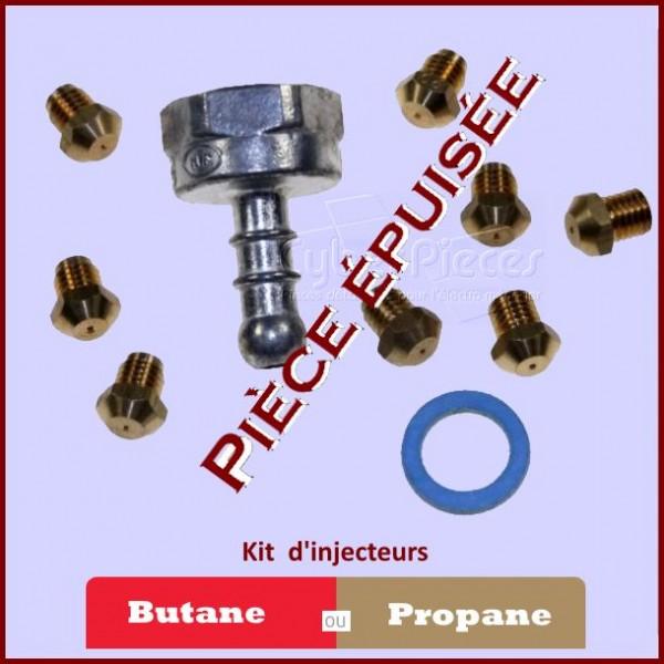 Jeu D'injecteurs Gaz Butane Brandt 71X1648 ***Piece epuisee***