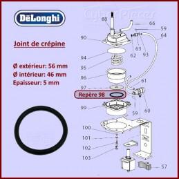 Joint de crepine Delonghi 533218 CYB-308786