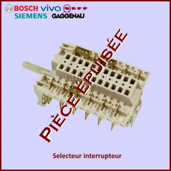 Selecteur interrupteur Bosch 00179790 *** Pièce épuisée ***