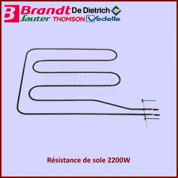 Resistance sole 2200W Brandt 92X6155