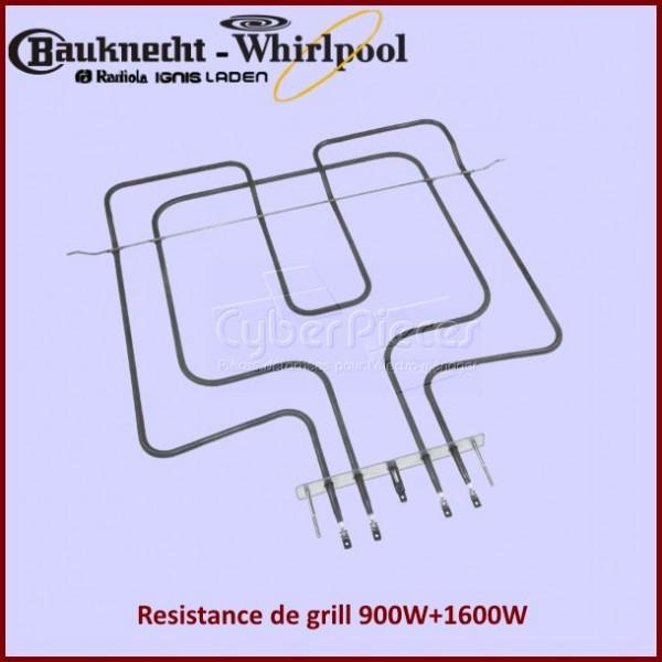 Resistance de grill 2500W Whirlpool 481225998474
