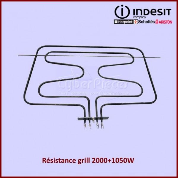 Résistance de grill 3050W Indesit C00141175