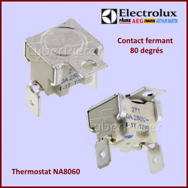Thermostat NA8060 - 80 degres Electrolux  3570560072